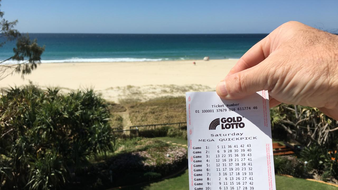 WINNER: A South Burnett man says he's heading to work today for the very last time after scoring division one in the weekend's Saturday Gold Lotto draw.