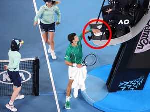 'WTF': Djoker's rogue move stuns tennis