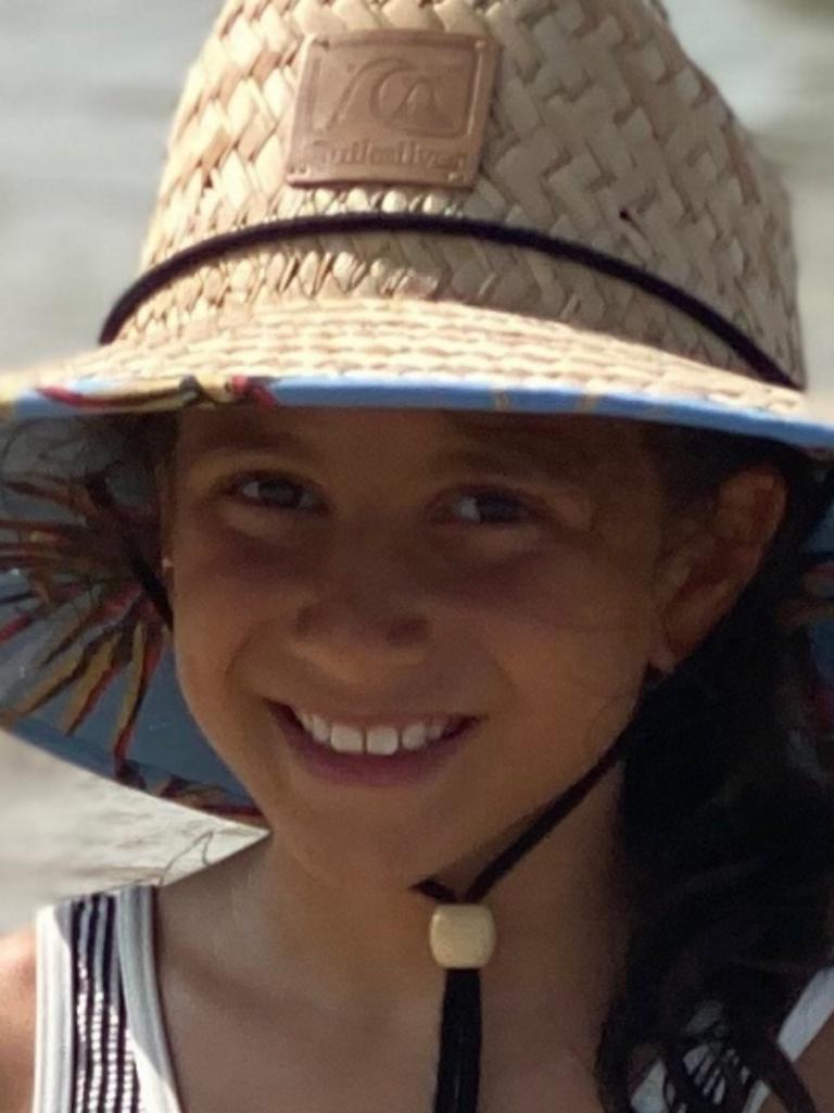 Sienna Abdallah, 8, was also killed. Picture: Supplied/Daniel Abdallah