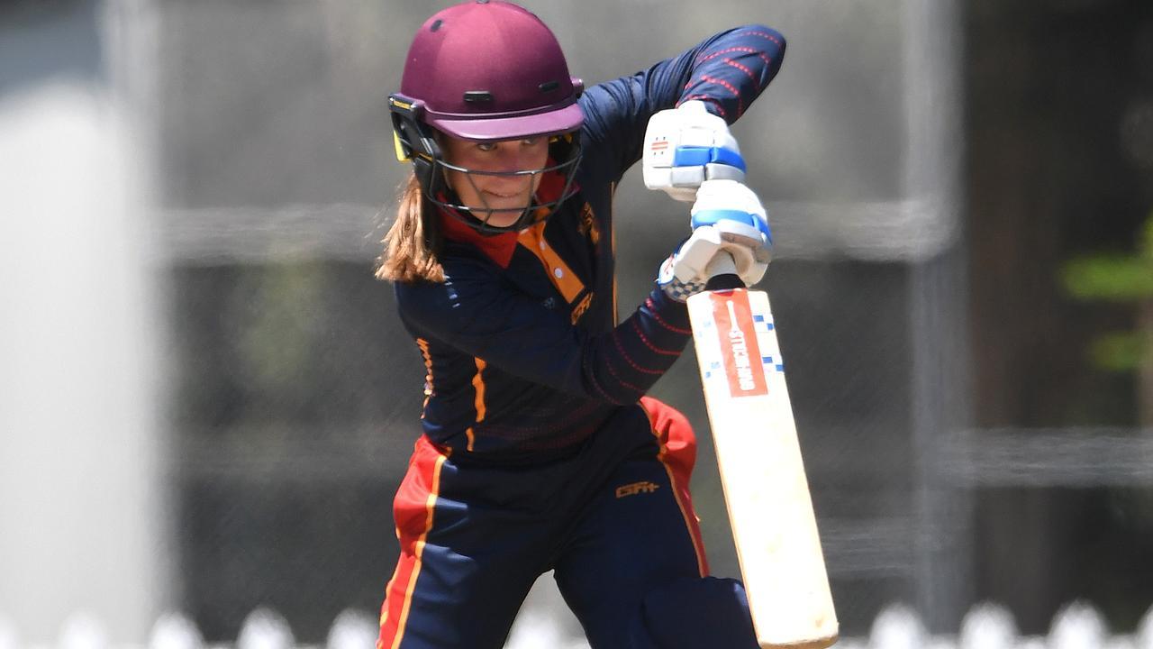 Sunshine Coast Scorchers against Valleys women's cricket match.Scorchers batter Taylor Stumer. Photo: Warren Lynam