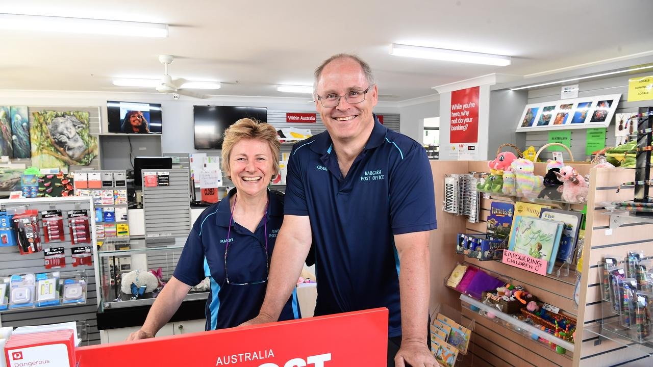 POST SHOP: Mandy Healey and Craig Donehue have moved into their new premises in See Street Bargara.