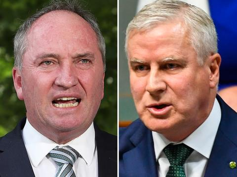 Both Joyce and McCormack claimed to have had the numbers to be successful in the leadership spill today, but McCormack won the vote.