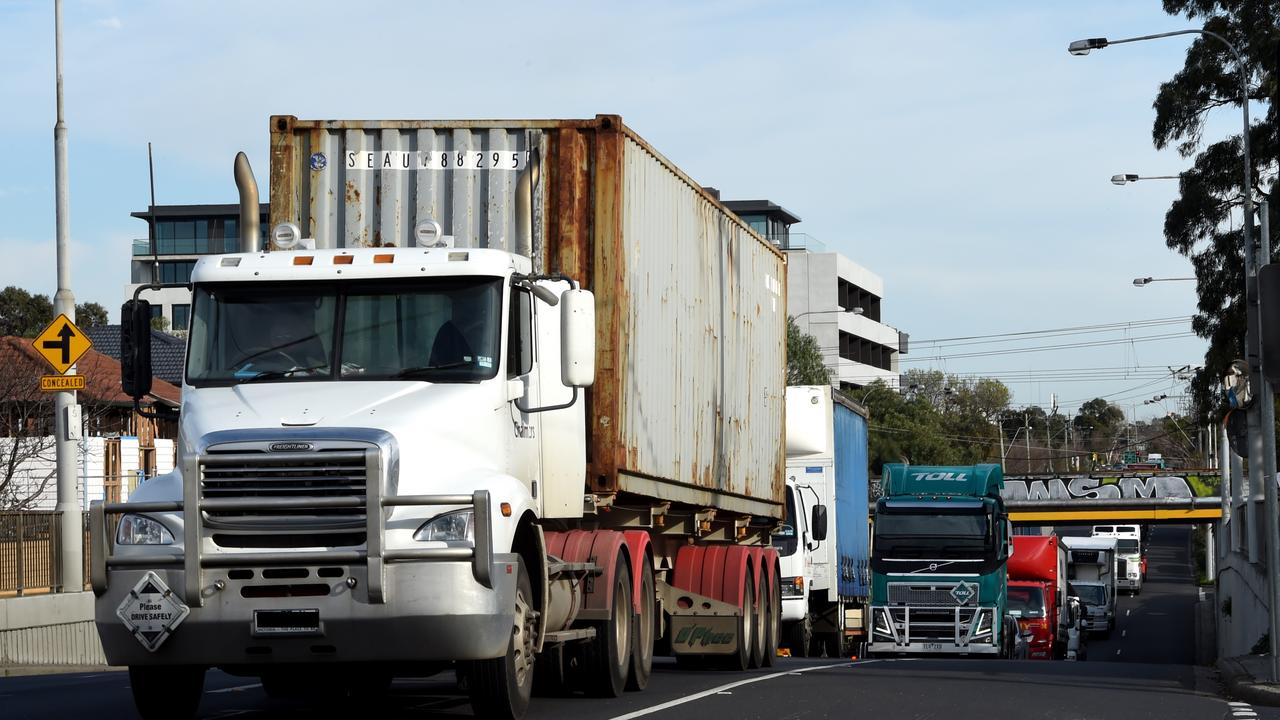 Older trucks using the area won't be restricted by proposed curfew.