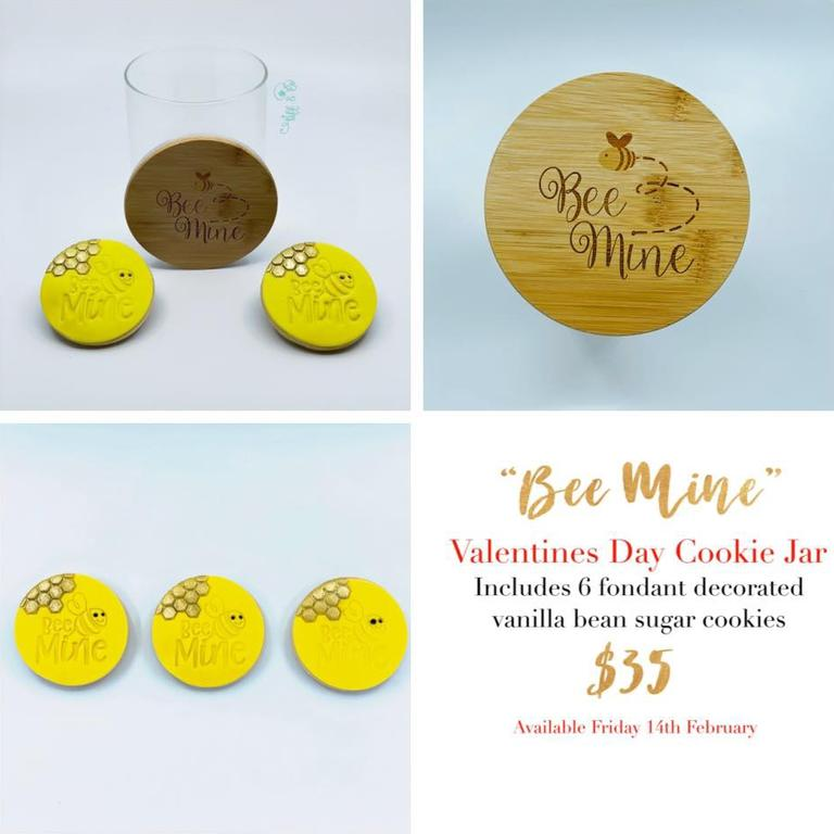 Mackay business Tiff & Co – Gourmet cupcakes and custom cakes has released a range of limited edition Valentine's Day cookies.