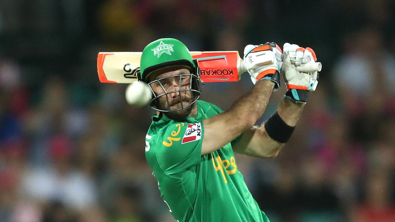 Glenn Maxwell is living in the now. Picture: Phil Hillyard