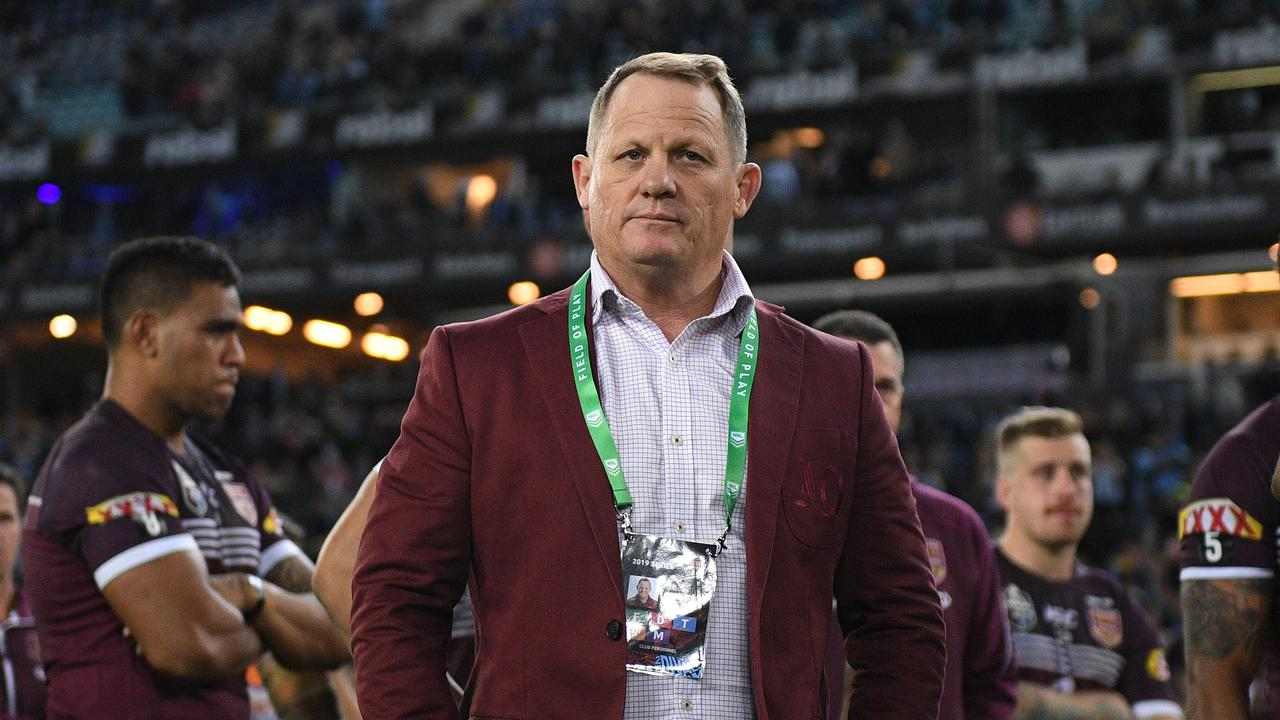 The Maroons have lost back-to-back Origin series, but Kevin Walters is confident of winning in 2020. (AAP Image/Dan Himbrechts)
