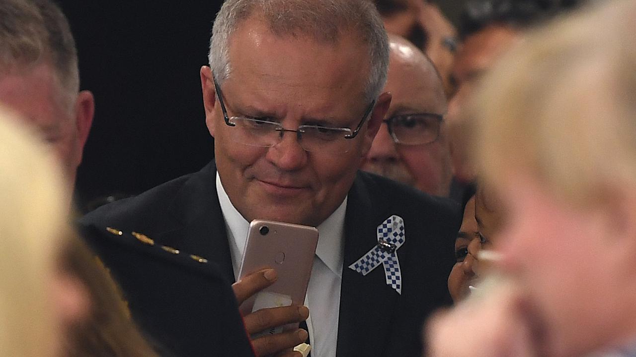 Australian Prime Minister Scott Morrison. Picture: AAP