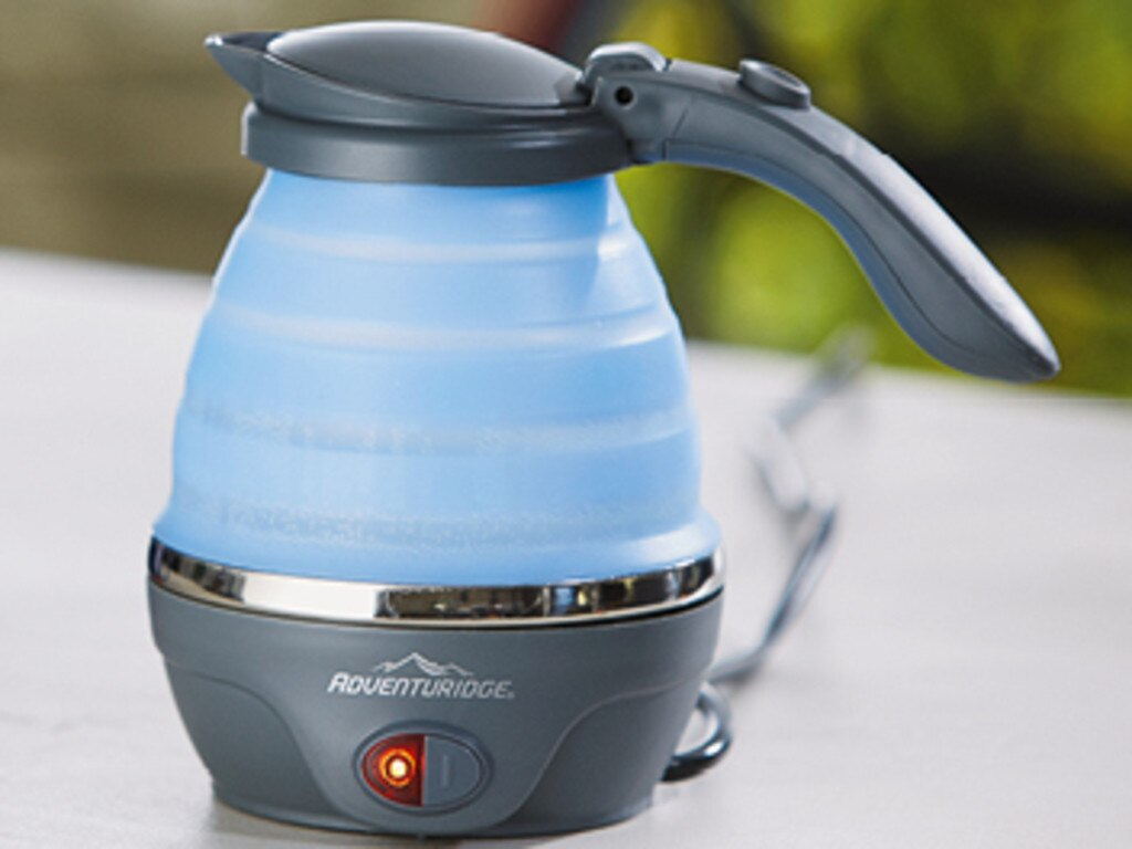 The Aldi collapsible kettle is also set to be popular.