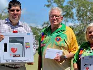 Life-saving donation for Coast sports club