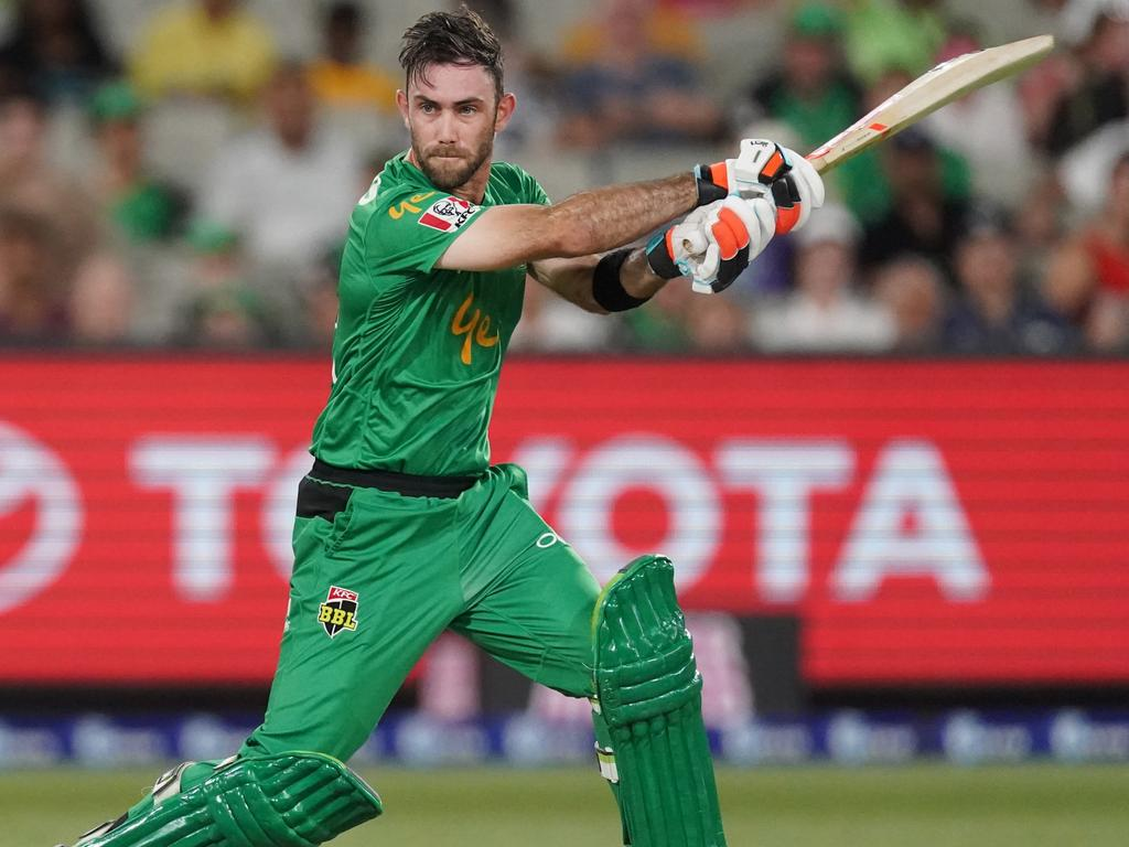 Glenn Maxwell and the Stars are aiming to meet the Sixers in the Big Bash final. Picture: AAP