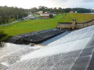 Dam draining to depend on much needed rain