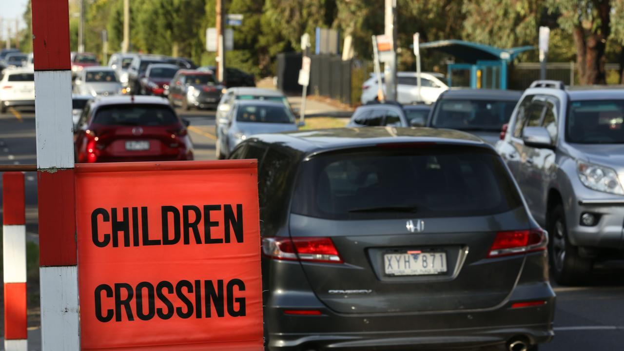 Walking the extra 50 metres to use the school crossing is always worth the effort and demonstrates that safety is important, no matter what the situation. Picture: Stuart Milligan