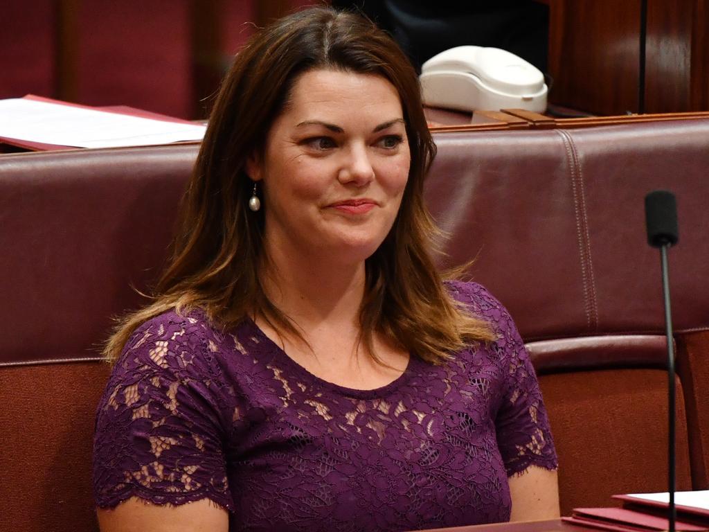 Greens Senator Sarah Hanson-Young. Picture: AAP
