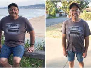 Truck mechanic loses 23kg in 12 weeks