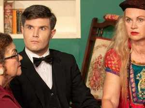 Witty comedy returns to the spotlight at Incinerator Theatre