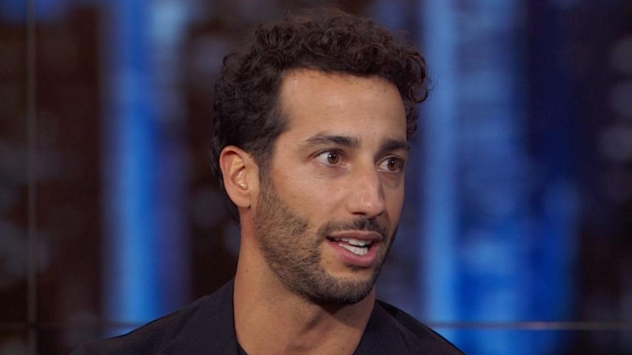 Daniel Ricciardo on the Daily Show