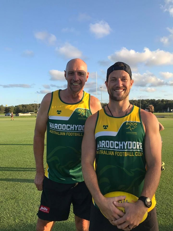 SOCIAL MEDIA IMAGE DISCUSS USE WITH YOUR EDITOR - Russell Johnson and Leigh Baker have joined the Roos women in coaching roles.