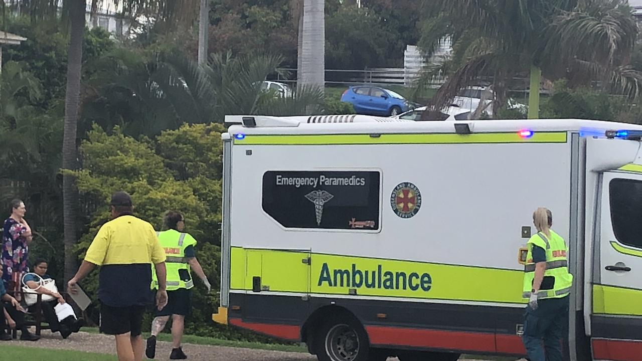 A two vehicle crash has occurred in Rockhampton CBD this afternoon.