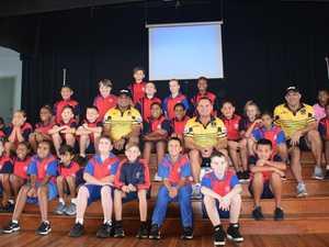 Full circle for NRL legend at South Burnett school