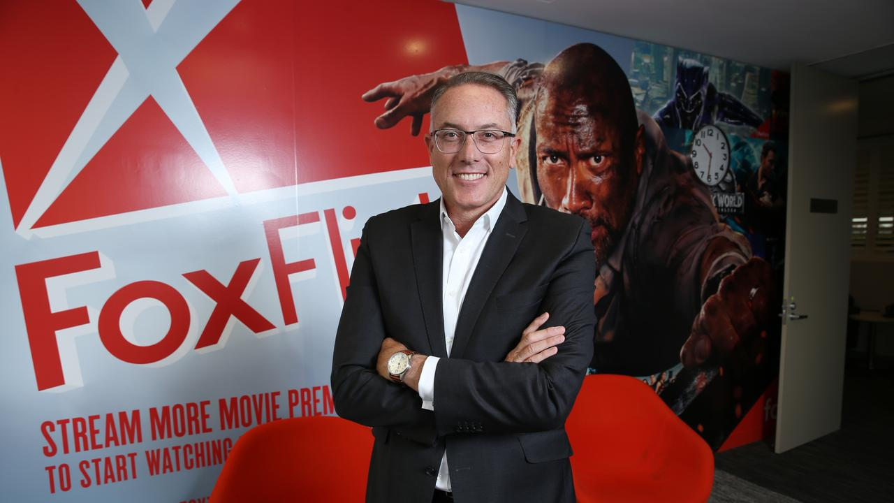 Foxtel boss Patrick Delaney. Picture: Britta Campion