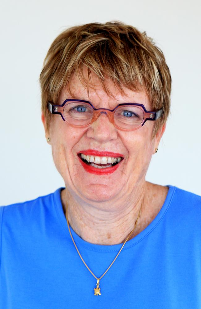 Main Beach Association president Sue Donovan — safety concerns on new development. Pic Tim Marsden.
