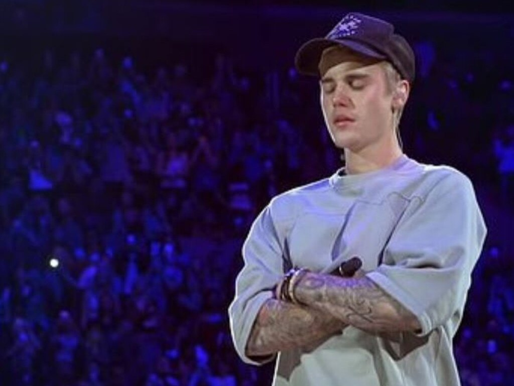 Justin Bieber has struggled with addiction and mental health problems. Picture: YouTube