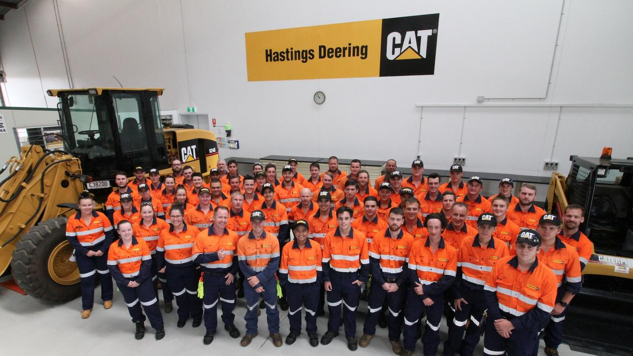 Hastings Deering's 2020 apprentices, including 34 from Mackay.