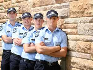 New faces for Ipswich police