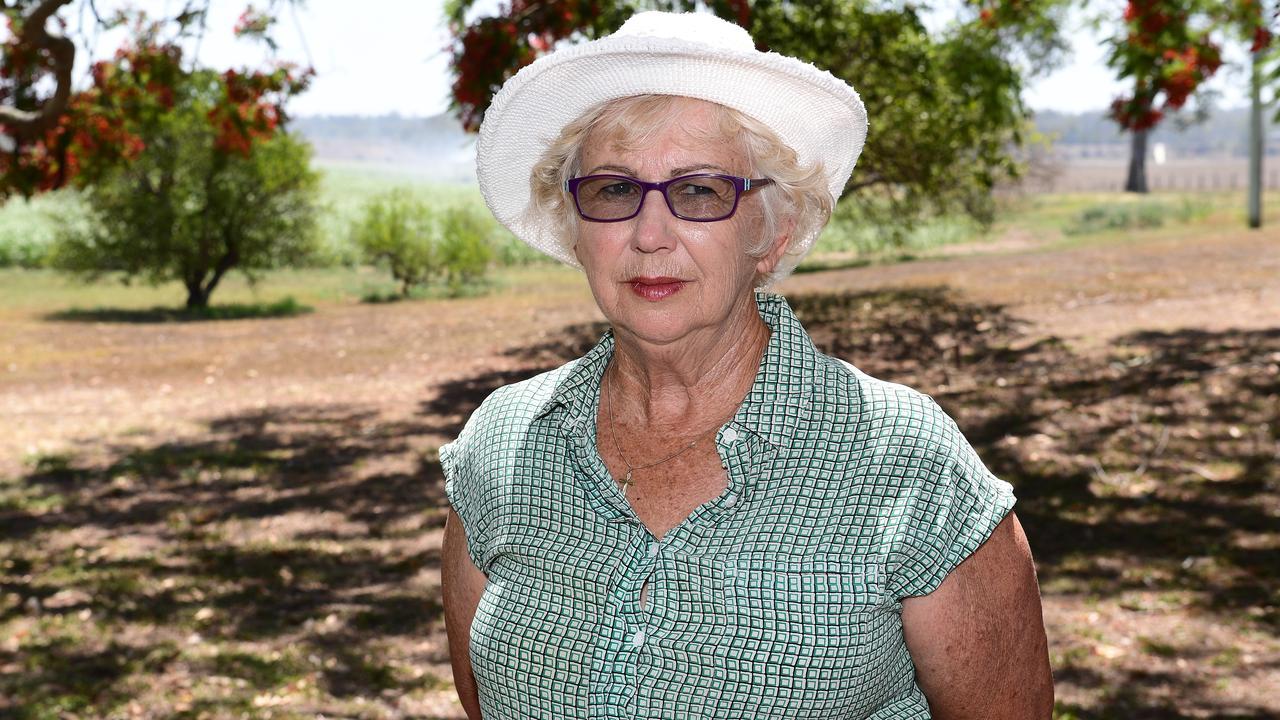 Dianne Bush on her family farm near Avondale.