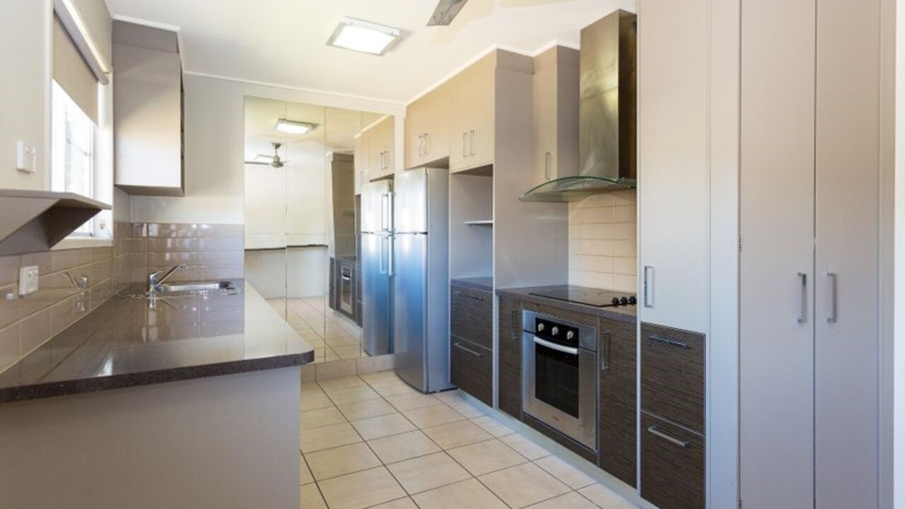 The newly renovated kitchen at 29 Eaglemount Road, Andergrove.