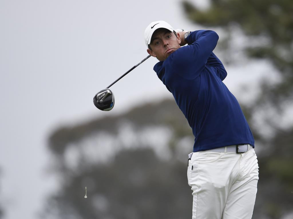 Rory McIlroy is one of the game's biggest hitters. (AP Photo/Denis Poroy)
