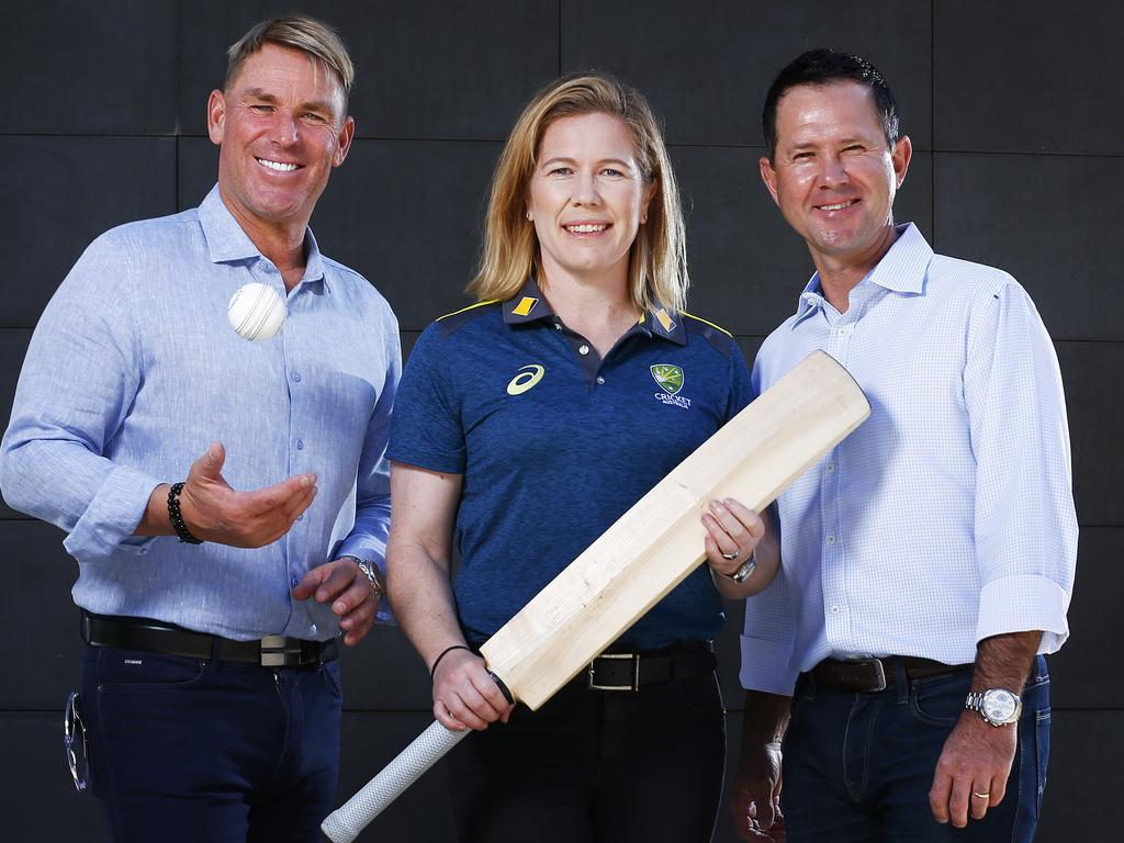 Shane Warne and Ricky Ponting will be the two captains for the Bushfire Charity Bash