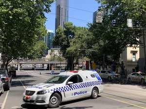 Man driving 'erratically' before dramatic CBD arrest