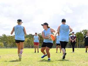 'Underdog' Capras women's side size up in first training hit