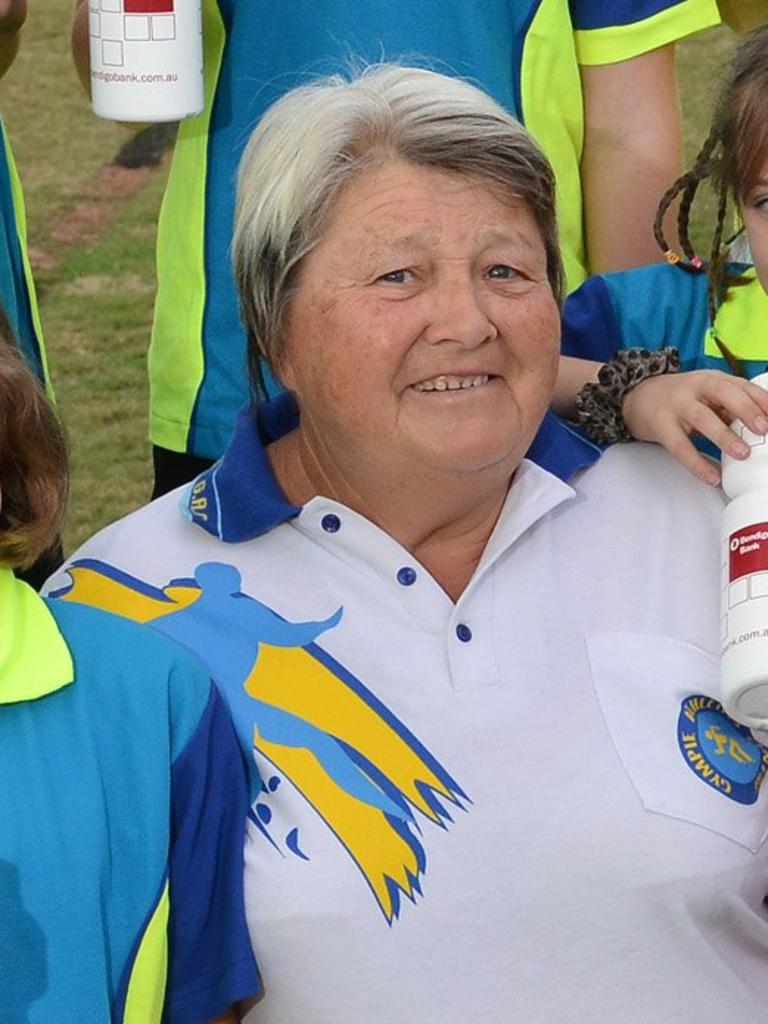 Leslie O'Connor, team manager of Gympie Amateur Athletics Club.