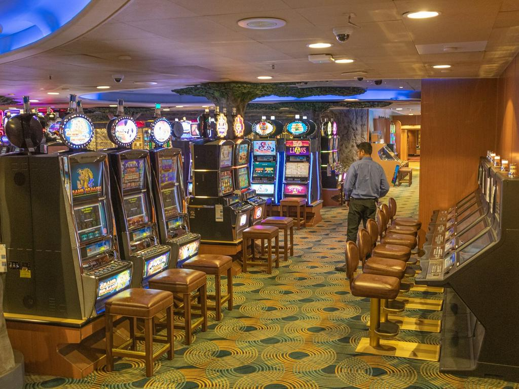 The quiet games room on board the ship. Picture: Supplied/ David Abel
