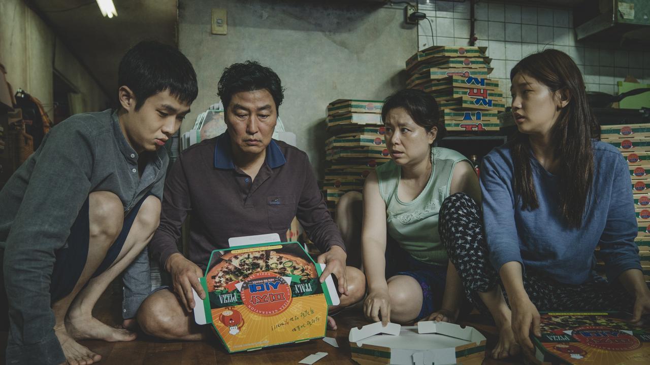 A scene from South Korean black comedy Parasite.