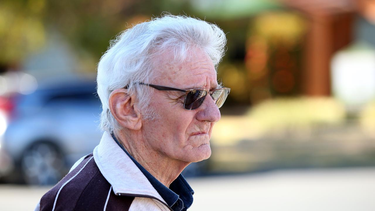Witness Paul Savage arriving to the inquest into the disappearance of William Tyrrell at Taree Local Court in Taree in August 22. Picture: Peter Lorimer/AAP