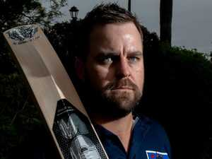 Cricketer notches up 200th game, isn't slowing down