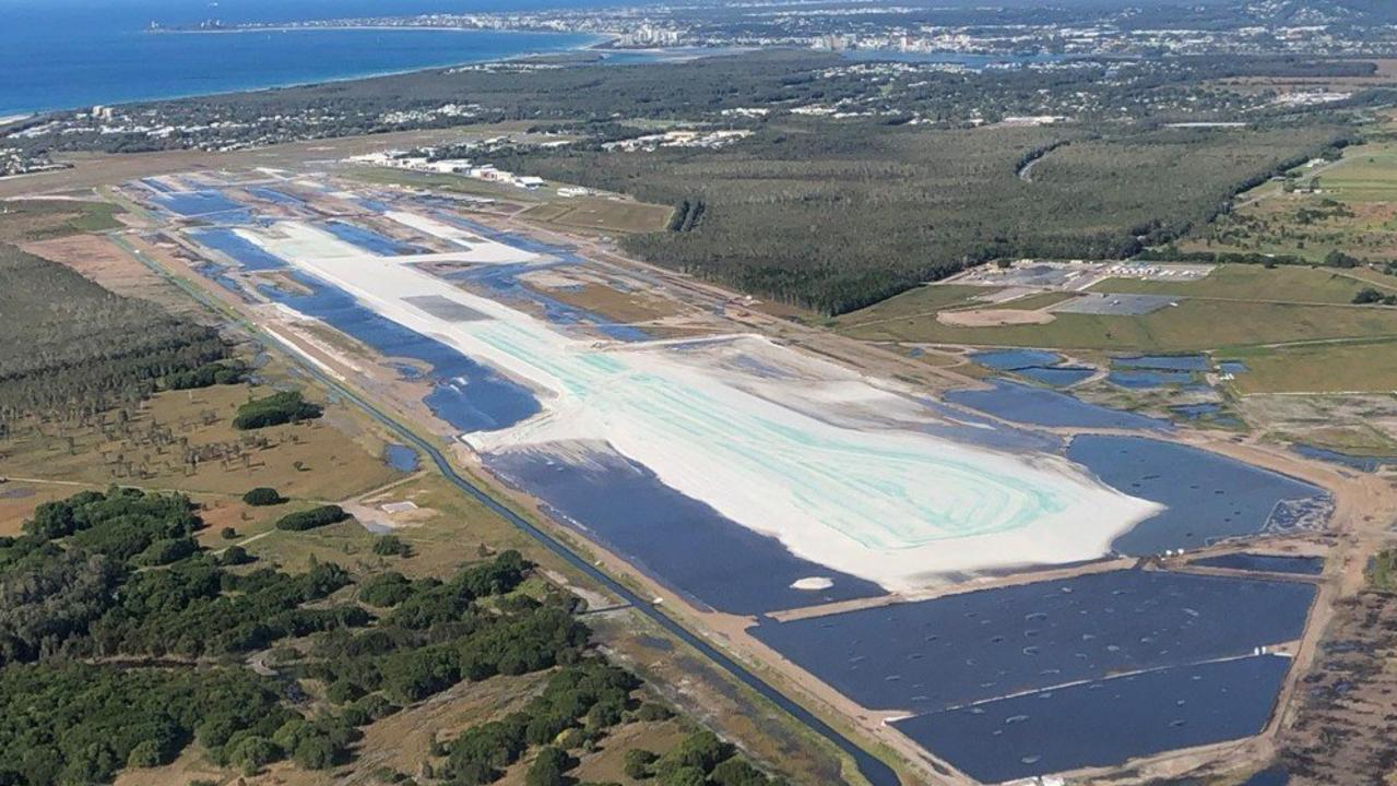 PFAS management at Sunshine Coast Airport is on track to cost $43 million.