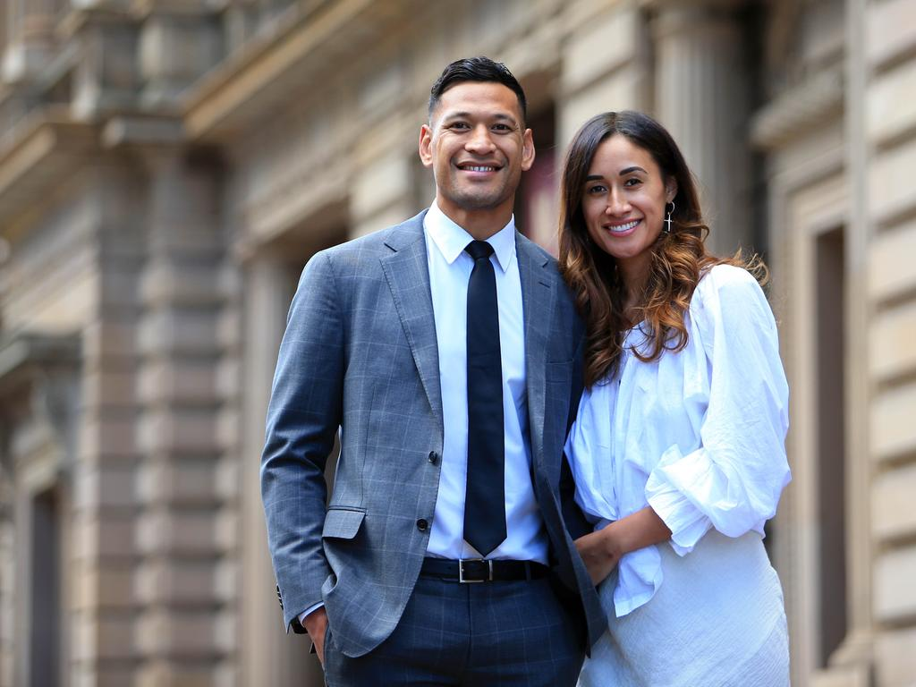 Maria Folau is with Israel in France. Picture: Aaron Francis/The Australian