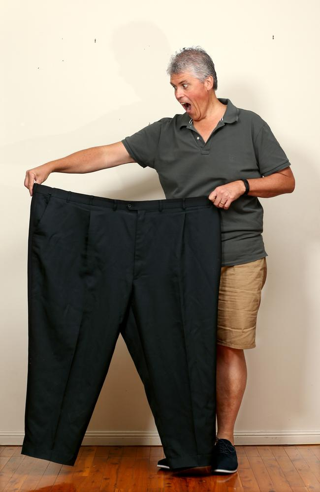 Terry Munro has lost 80 kilos in 81 days doing the new CSIRO diet. Photo Steve Pohlner