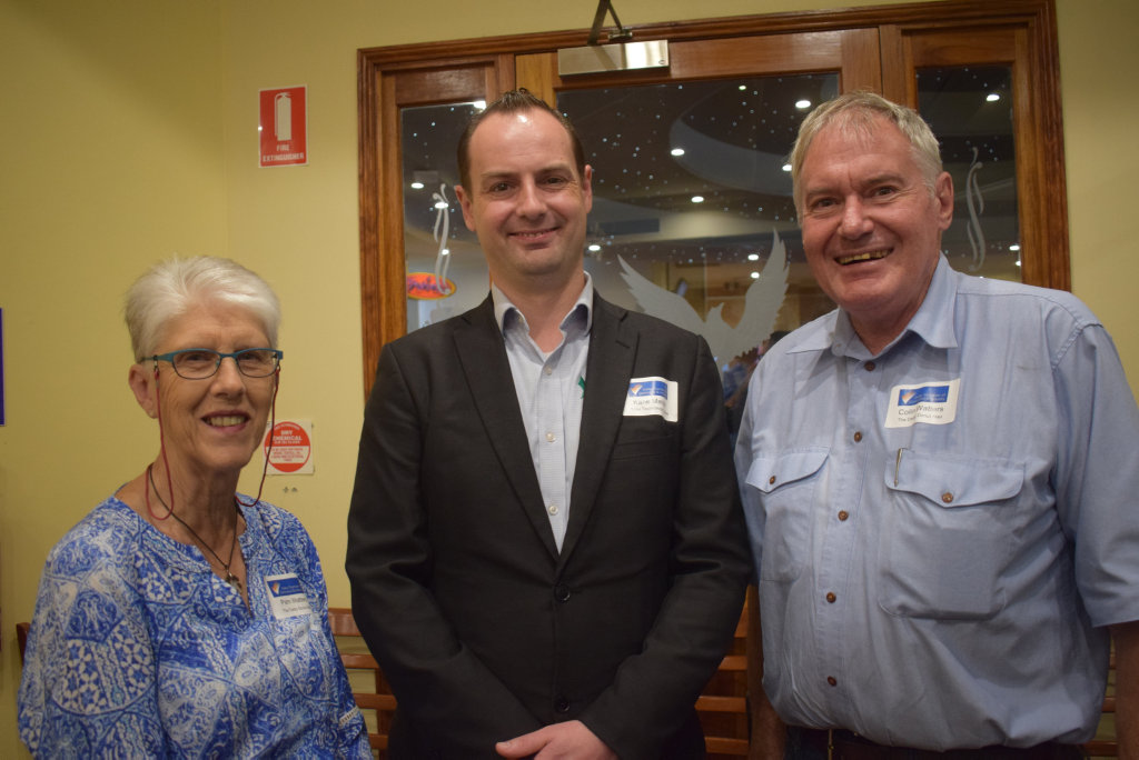 Pam Watters, Kane Mahler and Colin Watters