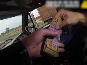Police discover illegal cash stash