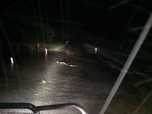 UPDATED: The roads that have been affected by rain