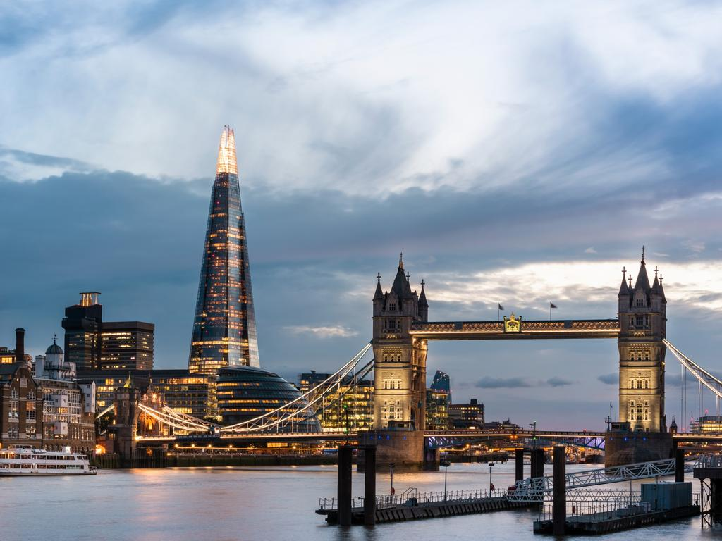 The Shard is one of London's newer buildings but a famous addition to its cityscape. Picture: Philip Reed
