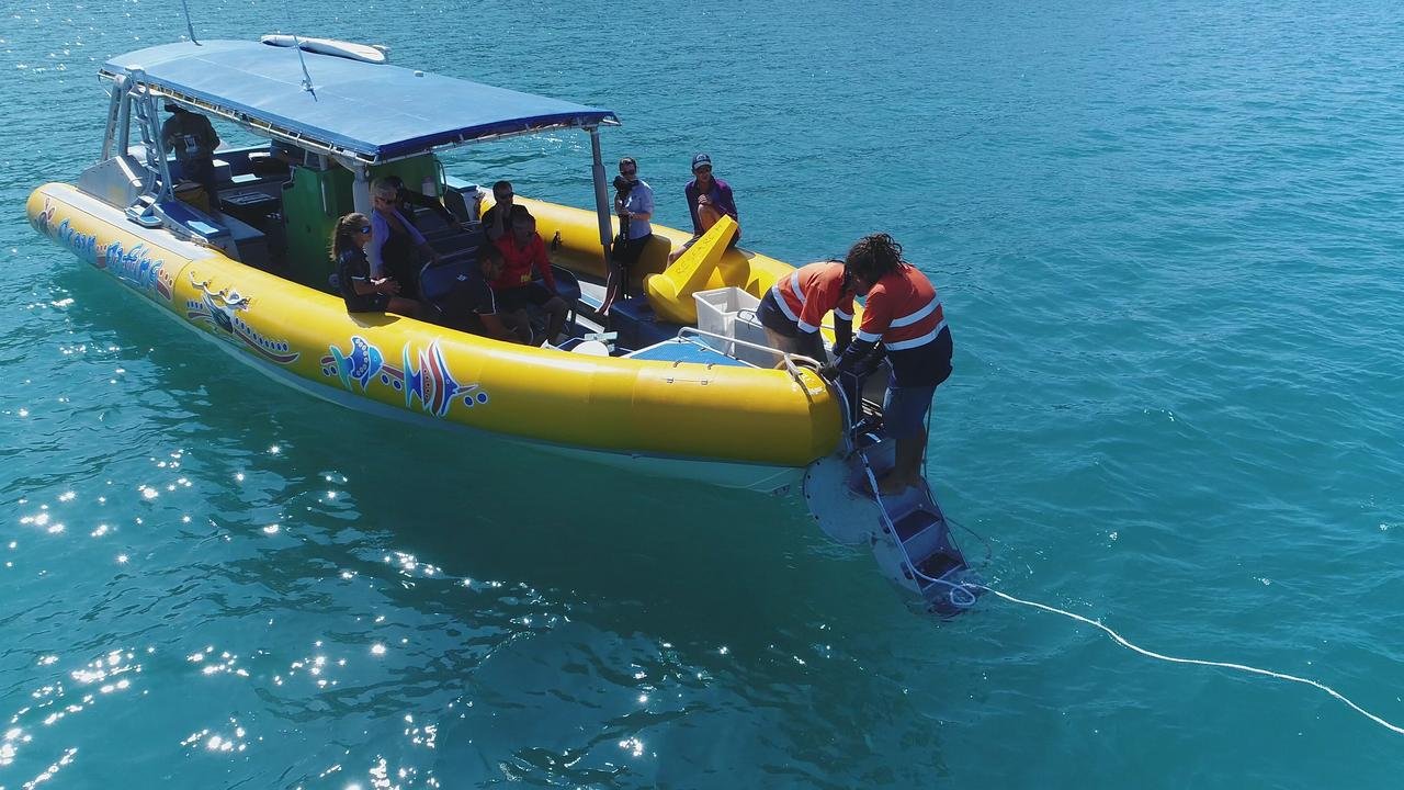 Reef Catchments and James Cook University researchers dropped off water monitoring devices across the Whitsunday region as part of a new citizen science driven project.