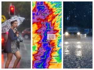 350mm drenching as heavy rain slams into Qld