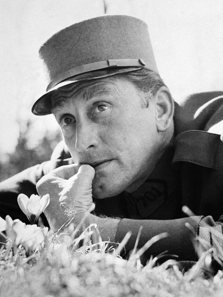 Kirk Douglas in 1957 film Paths of Glory.