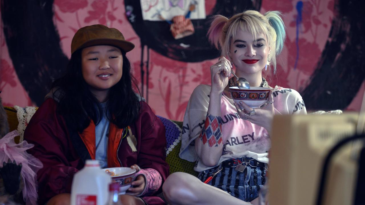The best pairing in Birds of Prey - Margot Robbie and Ella Jay Basco. Picture: Claudette Barius/Warner Bros Pictures via AP